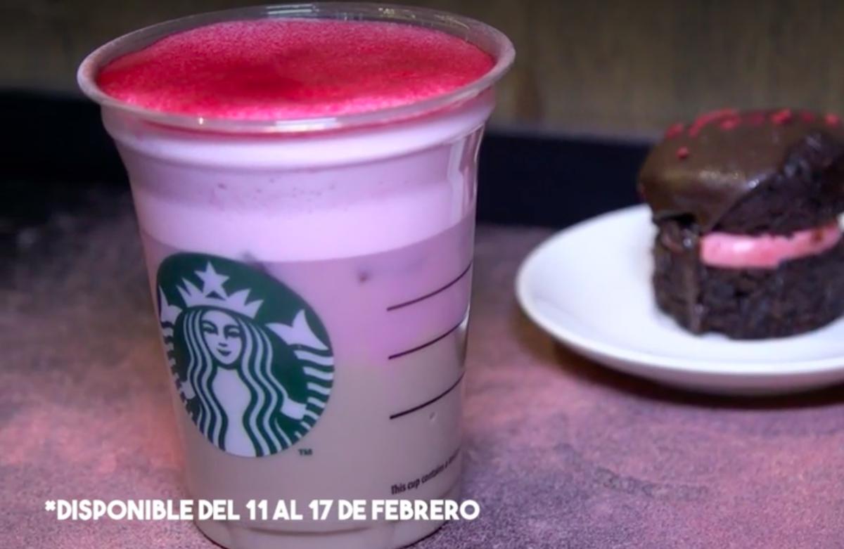 La nueva bebida de Starbucks para San Valentín