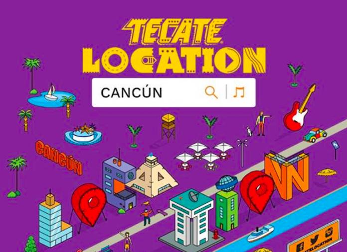 ¡Todo listo para el Tecate Location! Cancún 2019