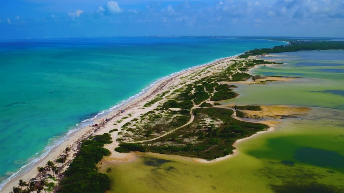Isla Blanca, joya de Quintana Roo