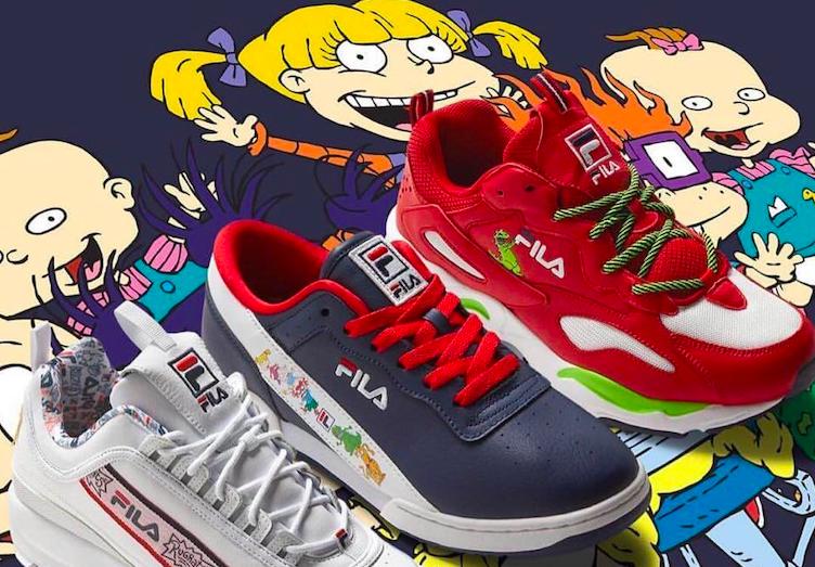 Amante de los Sneakers, los años 90's y Rugrats