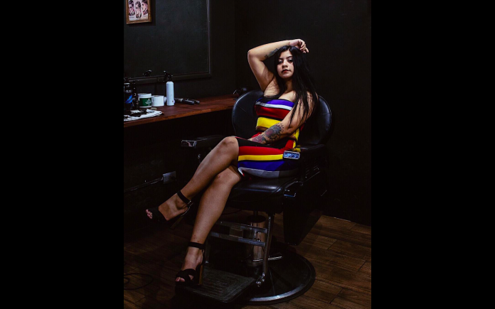 Minna Guillen - Lady Barber en Morelos