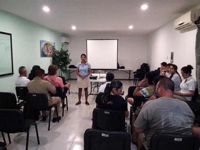 Presentan Programa de adaptación al cambio climático ante el Consejo Asesor del Parque Nacional Arrecife Puerto Morelos