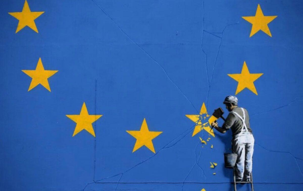 Mural del artista Banksy desaparece de la nada en Reino Unido