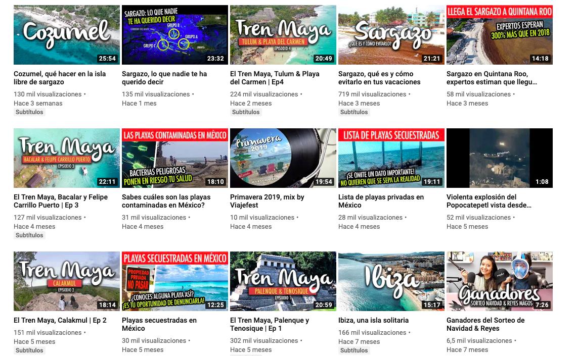 """""""ViajeFest"""": compartiendo el mundo a través de Youtube"""