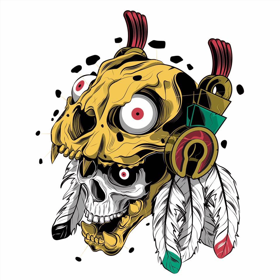 Colaboración One Skull Mx y chaloestevez