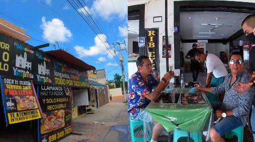 """Surtido Riko visita """"El Morelense"""" Cecina de Yecapixtla en Cancún"""