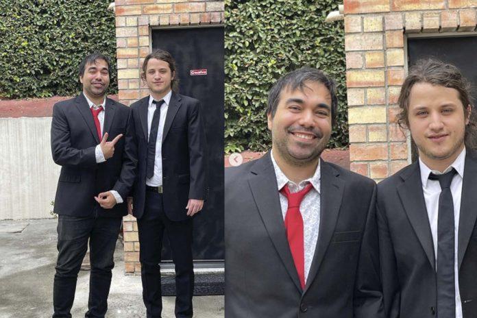 Roberto Martínez y Jacobo Wong