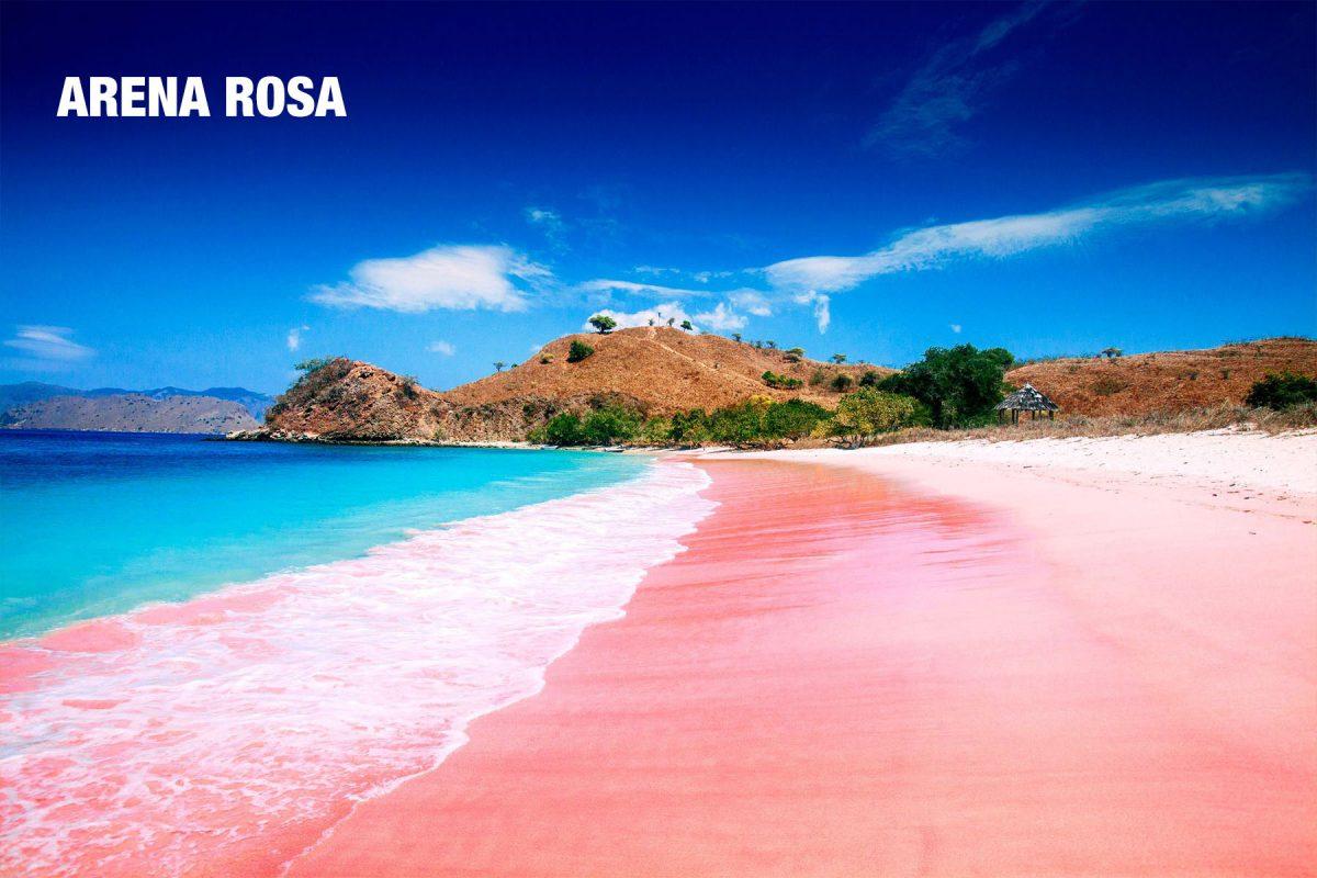 arena rosada