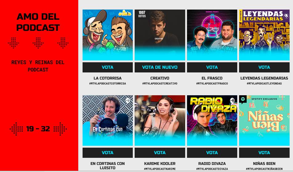 ¿Cómo votar por Creativo en los MTV Miaw 2021?