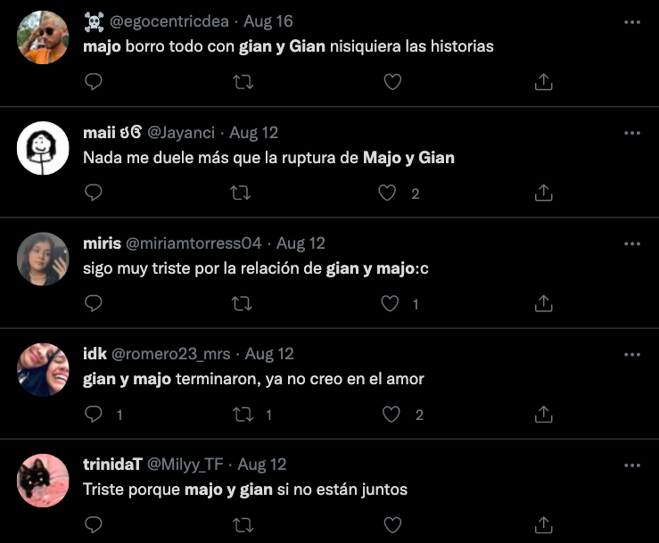 Majo y Gian